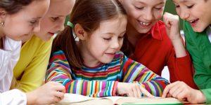 Kinderen lezen samen